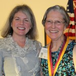 Dr. Marjorie Hass and Elsie Tyler Todd
