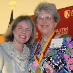 Dr. Marjorie Hass and Carolyn Harris Vestal