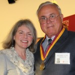 Dr. Marjorie Hass and Mike Walker