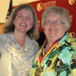 Dr. Marjorie Hass and Jeanette Tinney Wennenweser