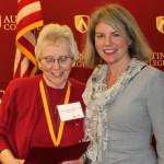 Charlotte Tucker Arnold & Dr. Marjorie Hass