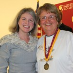 Dr. Marjorie Hass and Dr. Peggy Redshaw