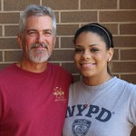 Tamera Morgan with dad Neill Morgan '81