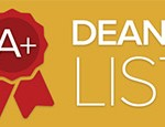 Spring Term 2018 Dean's List Announced