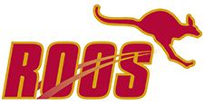 'Roos Athletics Logo
