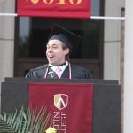 Student Speaker, Joshua Chanin