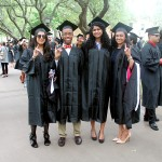 Graduates at Commencement 2016