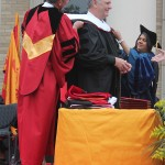 Honorary Doctorate presented to Michael Rawlings