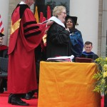 Honorary Doctorate presented to Anna Laura Page