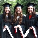 Graduates at Commecement 2016