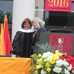 Honorary Doctorate presented to Clarice Tinsley