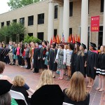 A Cappella Choir at Commencement 2016
