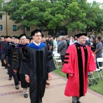 Faculty Processional at Commencement 2016