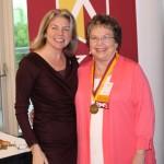 Dr. Marjorie Hass & Judy Bayless'66