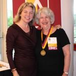 Dr. Marjorie Hass & Vivian Breazeale'66