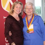 Dr. Marjorie Hass and Jane Chapman'66