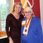Dr. Marjorie Hass & Mary Lou Cassidy'66