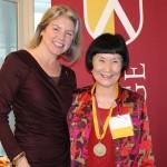 Dr. Marjorie Hass & Kazuko Finney'66