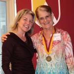 Dr. Marjorie Hass & Delia Elliott'66