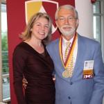 Dr. Marjorie Hass & Larry Huelbig'66