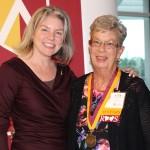 Dr. Marjorie Hass & Ann Murph'66y