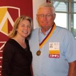 Dr. Marjorie Hass & Rick McBride'66