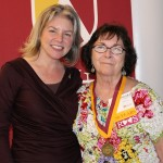 Dr. Marjorie Hass & Barbara Powell'66