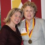Dr. Marjorie Hass & Ann Ross'66