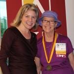 Dr. Marjorie Hass & Margot Simmons'66