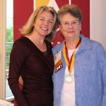 Dr. Marjorie Hass & Mary Benson'66