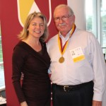Dr. Marjorie Hass & Steve Blythe'66