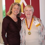 Dr. Marjorie Hass & Mary Ann Barnett'66