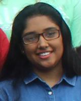 Pusthi Leva, sister of Abinav Leva '15 and cousin of Nikhil Patel '14 and Henali Patel '17