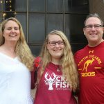 Hannah Barry '20, daughter of Brent Barry '88 and Susan Cox '91