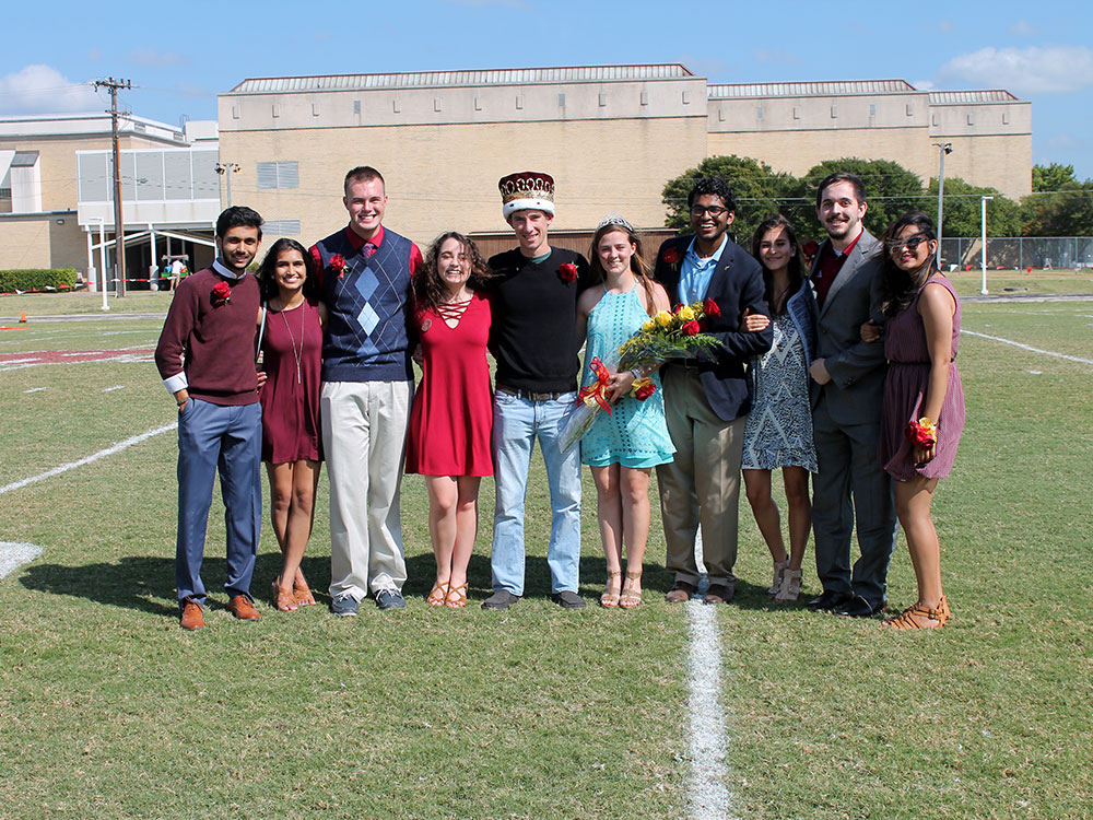 Homecoming Court 2016 - Austin College