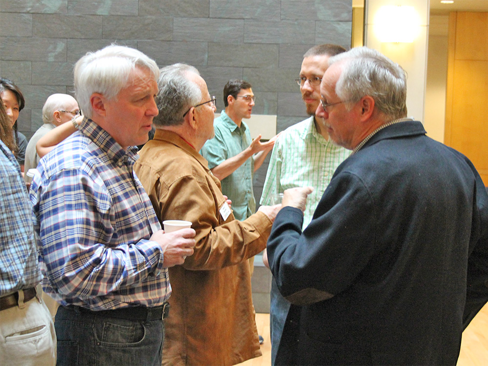 Family Weekend Faculty Coffee 2016 Austin College