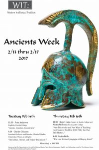 Ancients Week Poster