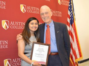 Karisma Sheth, Oscar Page Servant of the Year