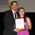 Sarah Jackson - Most Improved Cross Country Runner (with Ryan Dodd)