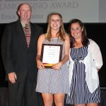 Erica Williams - Most Valuable Soccer Player (with David Sheridan and Grace Sokolow)
