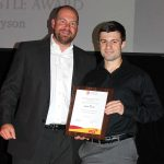Levin Dyson - The Clayton Hustle Award (with Mark Hudson)
