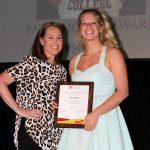 Bryce Frank - Pat Hooks Award (with Michelle Filander)