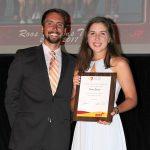 Katie Seibert - Carroll Pickett Award (with Ryan Dodd)