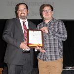 Baylor Bower - Most Outstanding Athletic Trainer (with Evan Gumpert)
