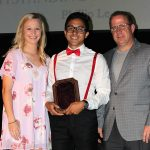 Phillip Le - Pete Cathon Award (with Erin Eckart and Tim Millerick)