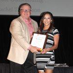Rachel Thomspon - Most Outstanding Cheerleader (with David Norman)
