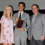 Chris Brown - Tim Jubela Award (with Erin Eckart and Tim Millerick)