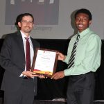 Matthew Gregory - The Munden Award (with Ryan Dodd)
