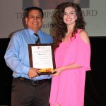 Madison Lee - Volleyball Team Impact Award (with Ed Garza)