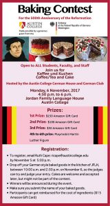 German Baking Event